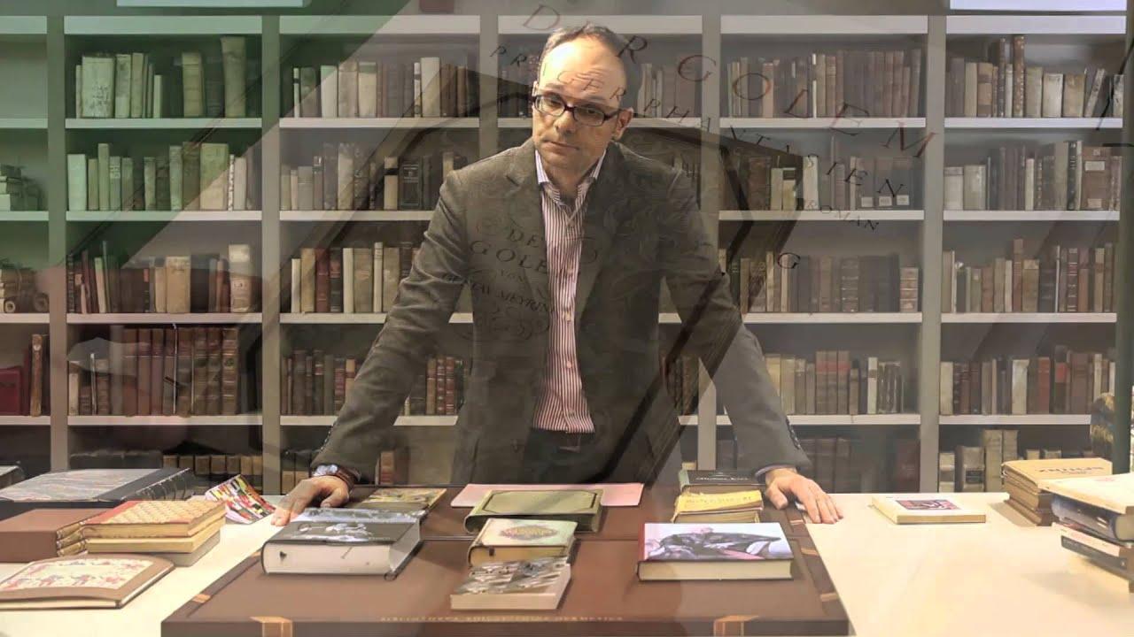 Infinite Fire Webinar VII - dr  Marco Pasi on Gustav Meyrink & His Esoteric  Novels