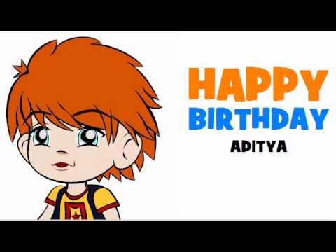 HAPPY BIRTHDAY ADITYA!