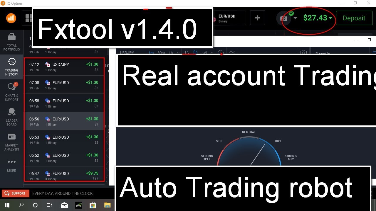 Binary Option Robot - Free Auto Trading Software for Forex & Crypto