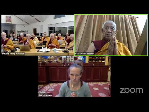 02 Pramanavarttika with Geshe Yeshe Thabkhe: The Sixteen Distorted Ideas 10-05-20