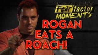 Fear Factor Moments | Rogan Eats a Roach