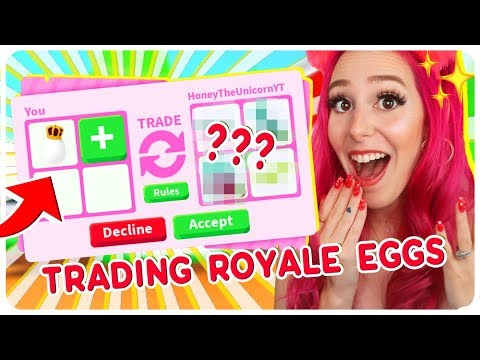 I Traded Only ROYAL EGGS for 24 Hours! Roblox Adopt Me Trading Challenge thumbnail