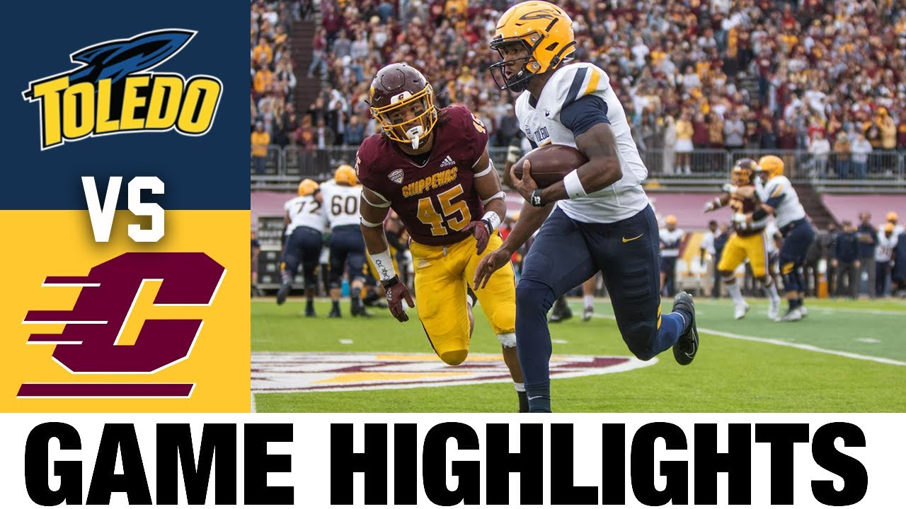 Toledo at Central Michigan   Week 7   2021 College Football