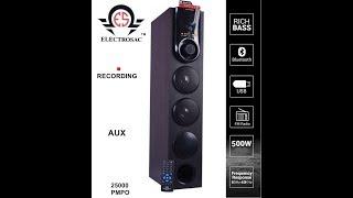 Best ELECTROSAC Soundbar Speaker to Buy in 2020 | ELECTROSAC Soundbar Speaker Price, Reviews, Unboxing and Guide to Buy