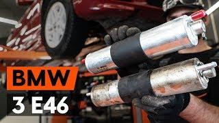 Kako zamenjati filter goriva na BMW 3 (E46) [VODIČ AUTODOC]