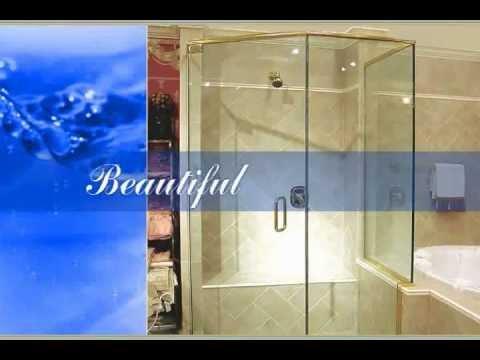 Glass Shower Doors Custom Precision Glass Kansas City Youtube