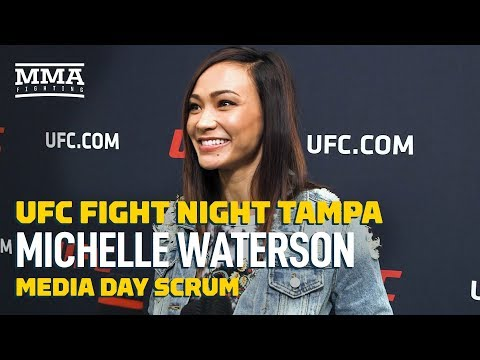 Michelle Waterson: 'If you're not going to give me the belt, Joanna's the next best thing'