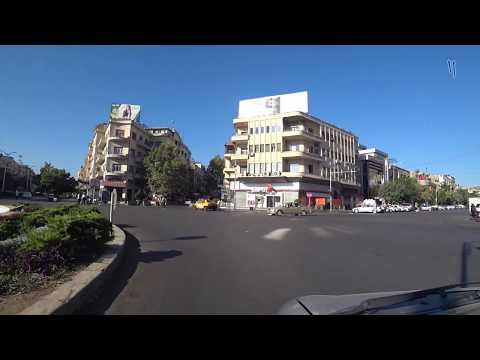 شوارع مدينة دمشق صباح اليوم 26-8-2018