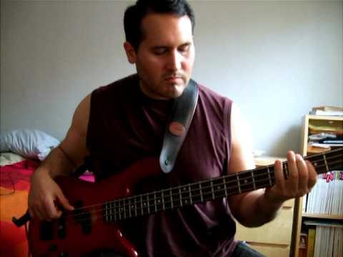 One slip - Pink floyd - bass solo - cover - Dallas, TX Bassist
