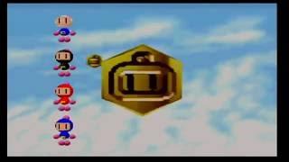 Bomberman 64 multiplayer gameplay (Nintendo 64)