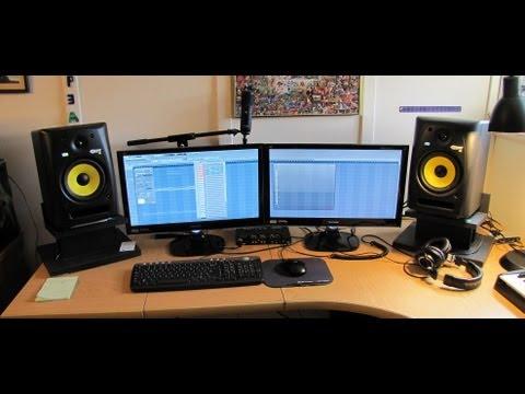 Home Studio Setup Tour - YouTube