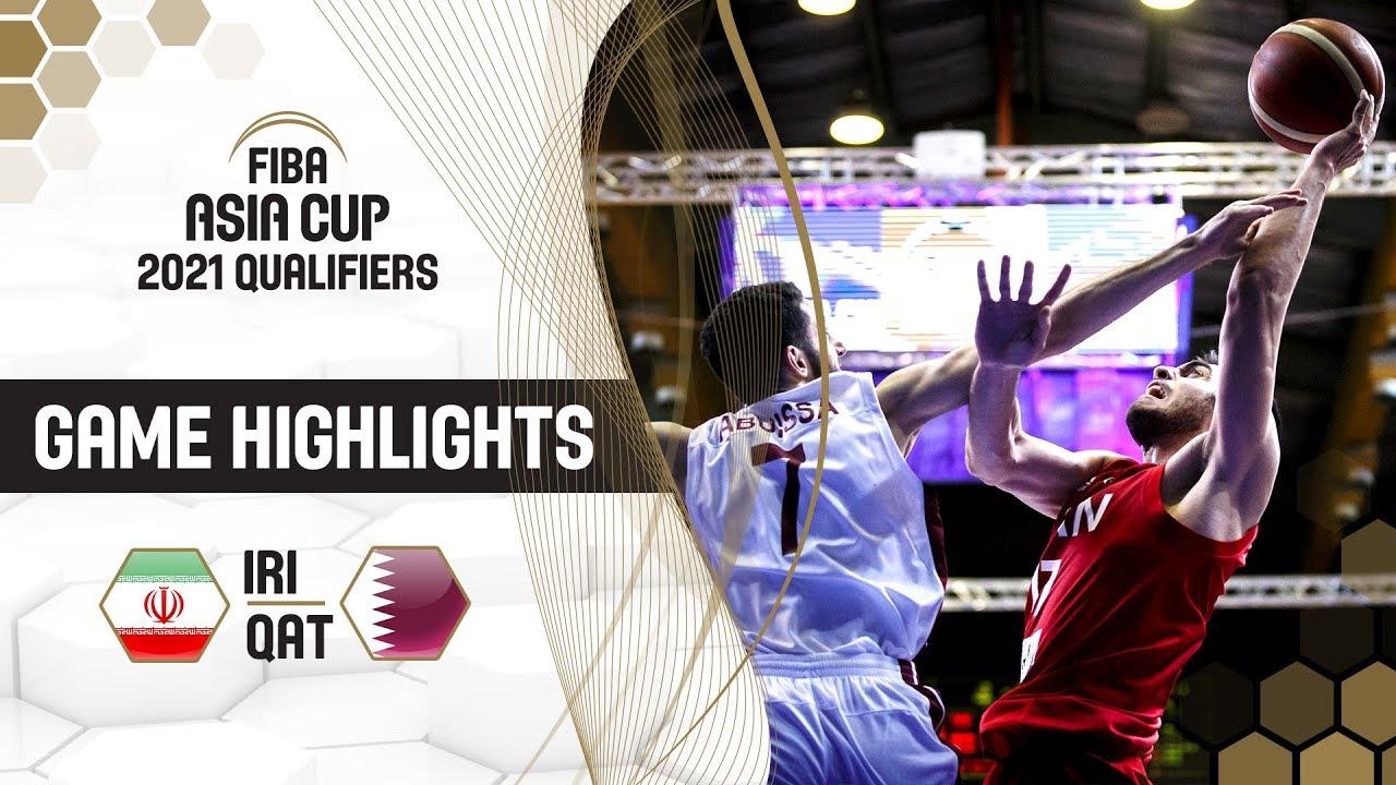 Iran v Qatar - Highlights - FIBA Asia Cup 2021