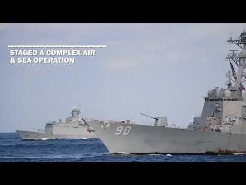 Three Carrier Operations in Western Pacific