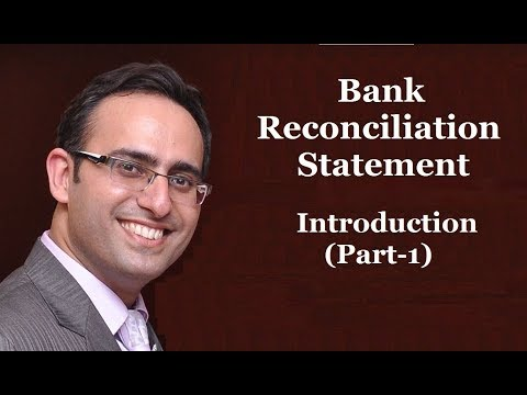 How to make Bank Reconciliation Statement-(Video-1)-Introduction