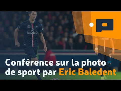 Conférence sur la photo de sport par Eric Baledent, Salon de la Photo 2014 - Apprendre la Photo.fr
