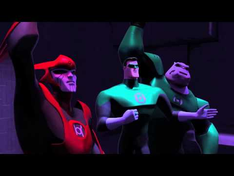 "Green Lantern: The Animated Series - ""Ranx"" Clip 2"