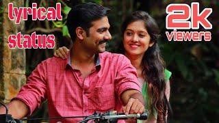 karnan nepolian bhagat singh/kathorthu kathorthu lyrical status ❤️/unni menon/ranjin raj/ #status
