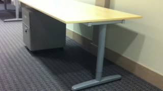 Ikea Galant Office Desk Assembly Service In Baltimore Md By Furniture Assembly Experts Llc
