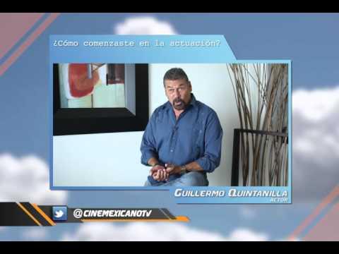 Guillermo Quintanilla comenzó como extra  PreguntaMex
