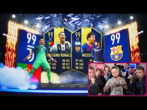 ЛУЧШИЕ ПАКИ ФИФЕРОВ В FIFA 19 || RONALDO IN A PACK || MESSI IN A PACK || PELE IN A PACK