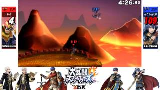 Super Smash Bros. for 3DS: For Glory: 1 on 1 #13 - Demon King Falcon