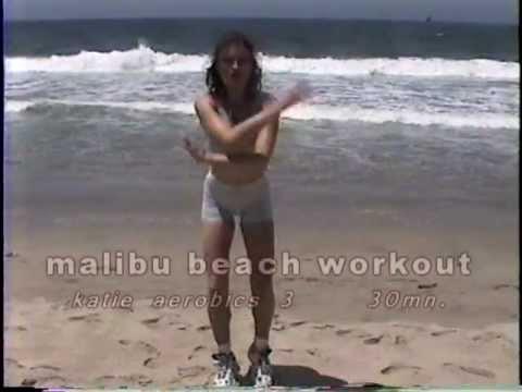 malibu beach workout-30 mn. aerobics at marina del rey beach