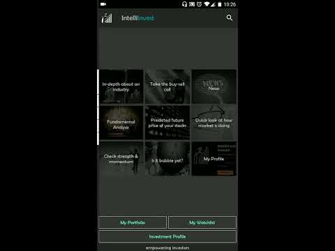IntelliInvest-NSE BSE Stock & Mutual Fund Analysis - Apps on