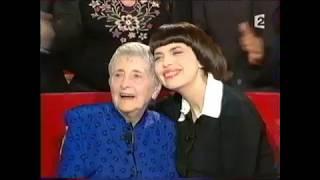 Mireille Mathieu et sa famille dans