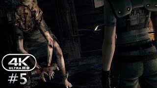 Resident Evil HD Remaster Gameplay Walkthrough Part 5 - Jill | PC 4K 60FPS