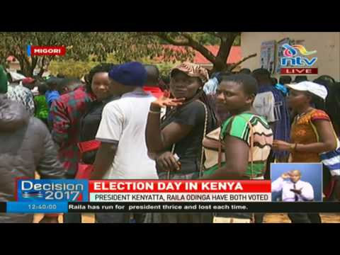 Migori business people making a killing, voting running smoothly -#ElectionsKE