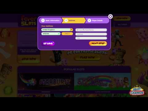 Fever Slots Casino Registration Video 2017 - £600 BONUS And 60 BONUS SPINS