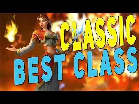 WoW Classic BEST CLASS? Top Dungeon Leveling Classes | DPS AoE Farming - World Of Warcraft