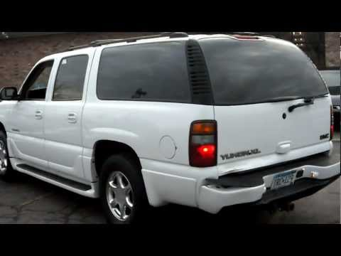 2002 GMC Yukon XL Denali, All wheel Drive, 6.0 liter V8, leather quads, DVD, warranty!!!