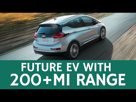 Best Future EV with 200+ Mile Range: All-Electric Chevrolet Bolt