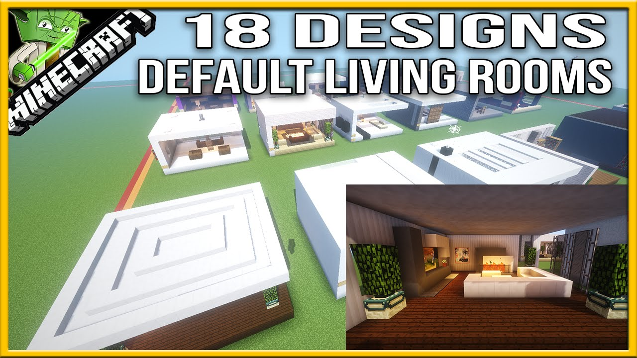 Minecraft Living Room Designs Default Youtube