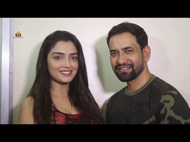 Bhojpuri Film ''Nirhua The Leader'' Amrapali Dubey & Dinesh Lal Yadav (Nirhua) Press Conference