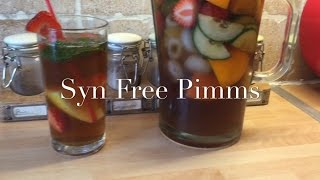 Slimming World Syn Free Non Alcoholic Pimms | Make It Monday's