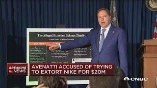 Michael Avenatti told Nike 'company could die': US attorney