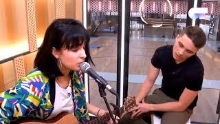 NATALIA le enseña a DAMION su canción / OT 2018