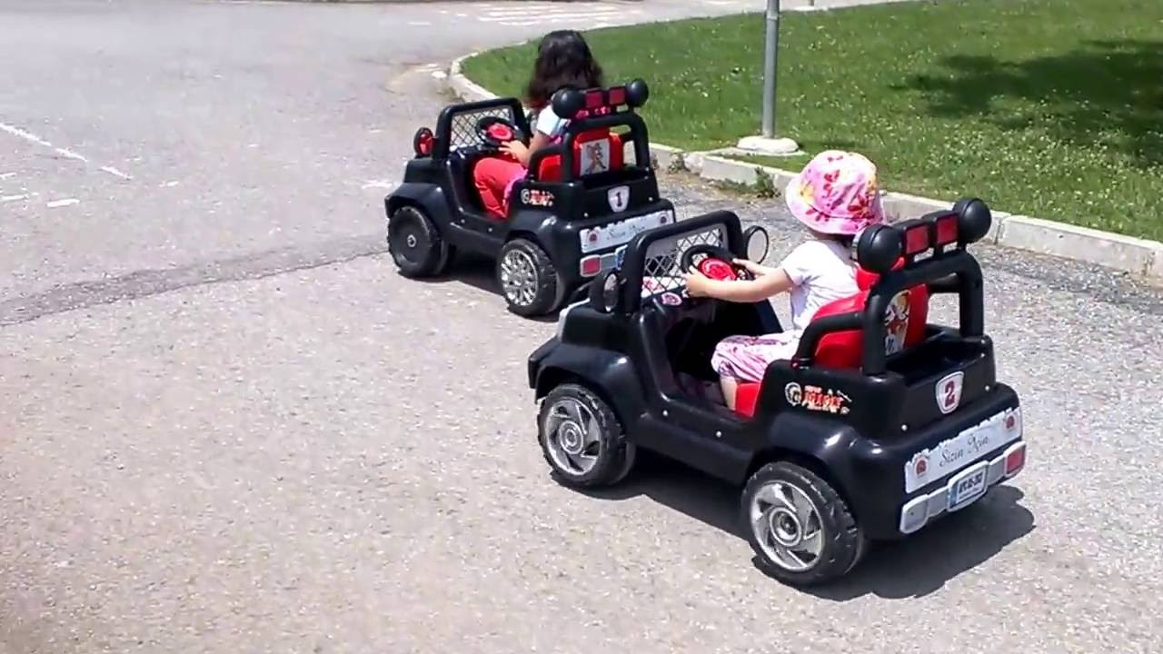 Kids Car Race Kids Small Police Cars Jeep And Truck Youtube