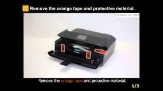 01. PIXMA MG7720: Setting Up the Printer