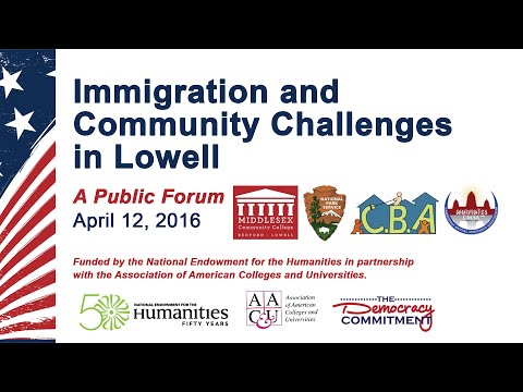 Immigration and Community Challenges in Lowell Public Forum
