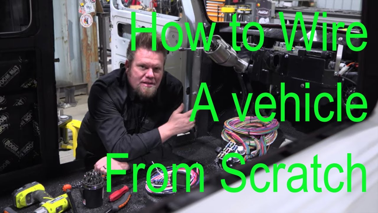 How to Rewire your Custom Car; Willys Wagon Episode 13