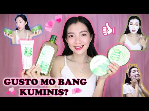 My Simple Skin Care Routine + Nature Republic and Mumuso Aloe Vera Gel Review