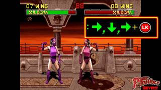 aLL STAGE FATALITY - TUTORIAL MOVE LIST - ULTIMATE MORTAL KOMBAT 3 ARCADE 1080p 60fps