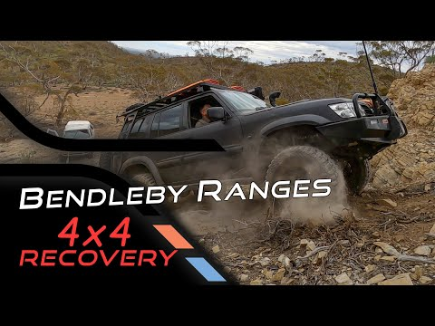 Bendleby Ranges 4x4 Recovery - Weekender Turned Recovery Mission