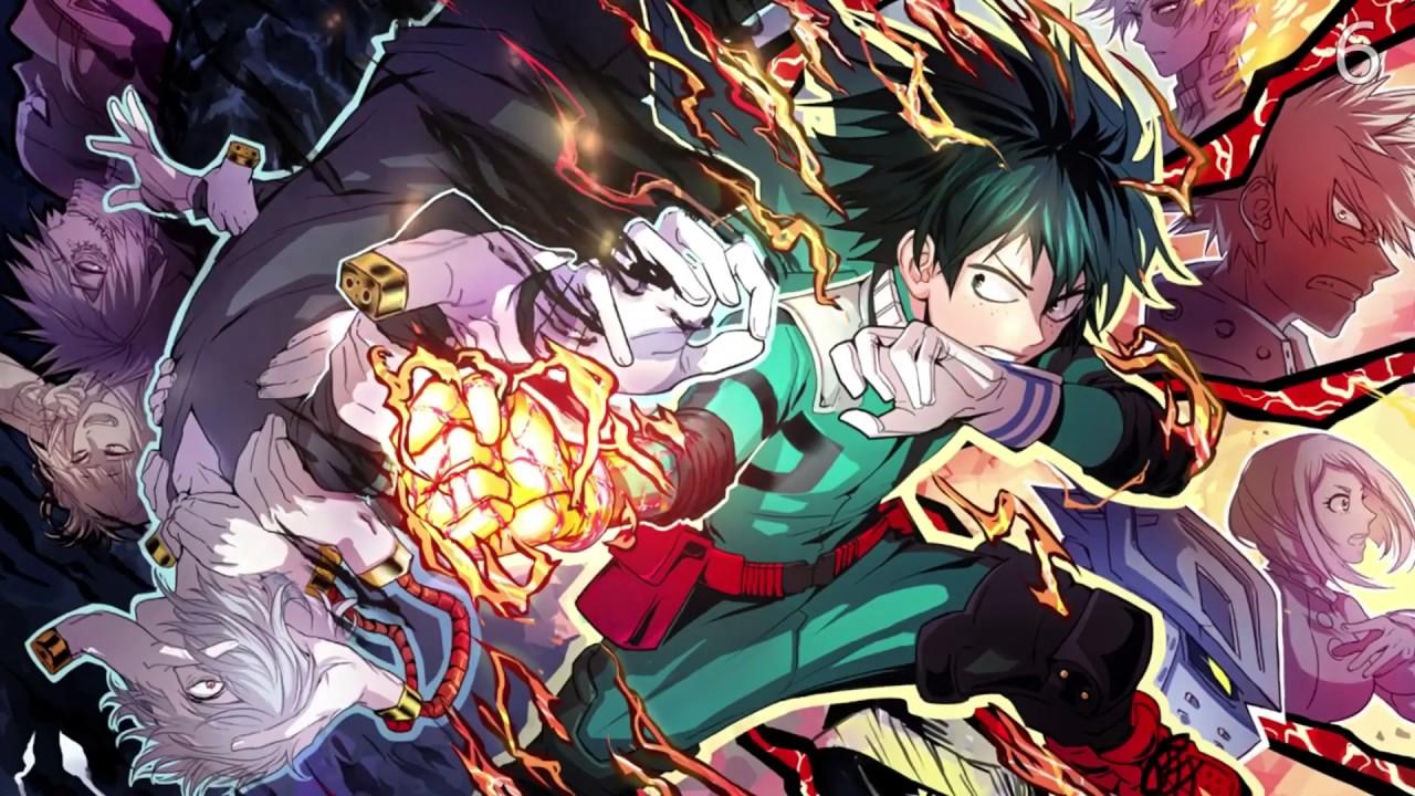 My Hero Academia (animated wallpaper) - YouTube