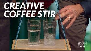 Creative Coffee Stir - Cool Science