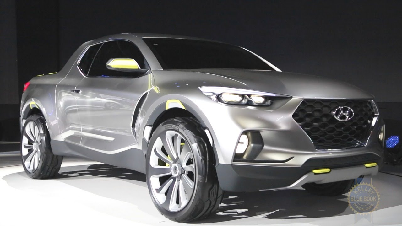hyundai santa cruz concept 2015 detroit auto show youtube. Black Bedroom Furniture Sets. Home Design Ideas