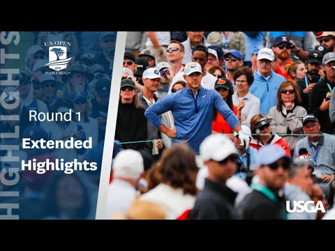 Scott Miller  - Round 1 Highlights of the 2019 U.S. Open at Pebble Beach